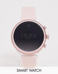 Смарт-часы Fossil FTW6022 Sport - 41 мм - Розовый