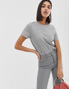 Серая футболка Vero Moda - Серый