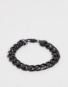 Черный браслет-цепочка Tommy Hilfiger - Черный