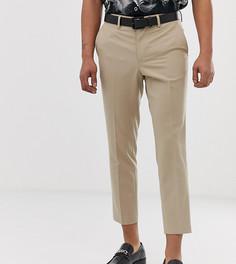 Светло-бежевые укороченные брюки скинни Heart & Dagger - Светло-бежевый