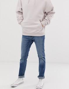 Светлые джинсы скинни Hollister - Синий