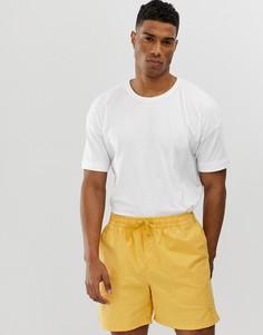 Oversize-футболка с заниженной линией плеч Selected Homme - Белый