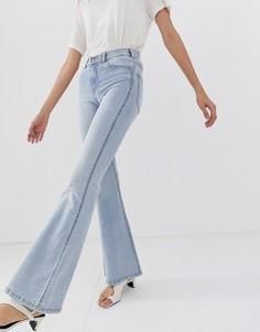 Расклешенные джинсы Dr Denim Macy - Синий