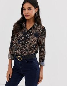 Рубашка с принтом Vila - Мульти