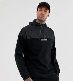 Черная куртка из комбинированной ткани с молнией Puma эксклюзивно для ASOS - Черный