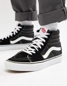 Черные высокие кроссовки Vans Sk8 - Черный