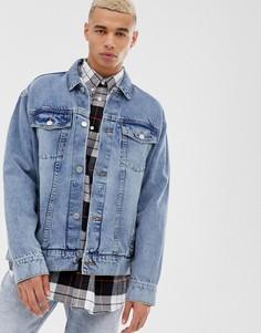 Джинсовая куртка в стиле девяностых Cheap Monday - Синий