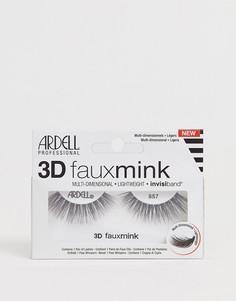 Накладные ресницы Ardell Lashes 3D Faux Mink 857 - Черный