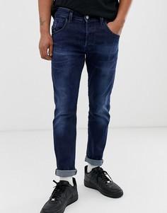 Суженные джинсы Diesel D-Bazer 083AT - Синий