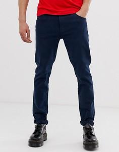 Темно-синие джинсы скинни Weekday Friday - Темно-синий
