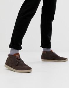 Светло-коричневые замшевые кроссовки Boxfresh alvendon - Рыжий