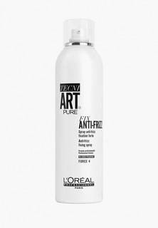 Спрей для волос LOreal Professionnel Tecni.Art ANTI FRIZZ PURE Для сильной фиксации с защитой от влаги и УФ-лучей 400 мл