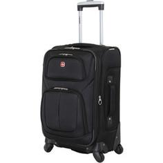 Чемодан Wenger Sion, черный, 37x22x60 см, 35 л, шт