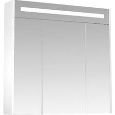 Шкаф-зеркало Triton Диана 80 белый (Щ0000008588)
