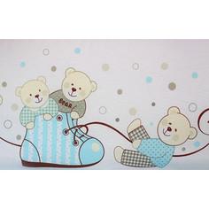 Комплект детского постельного белья Pituso Мишки голубой (мг 302)