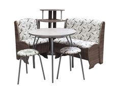 Набор мебели Блюз с круглым столом Премиум МК
