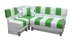 Кухонный угловой диван Домино Премиум МК