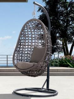 Плетеное подвесное кресло Флоренция 4sis