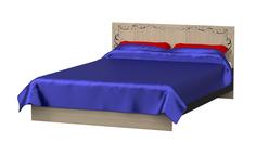 Кровать двойная с фотопечатью Премиум МК