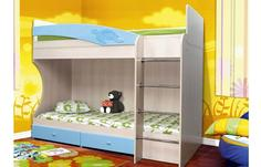 Детская Двухъярусная кровать Адель-1 ОЛМЕКО