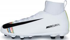 Бутсы для мальчиков Nike Mercurial Superfly 6 Club CR7 FG/MG, размер 34.5