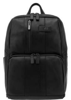 Рюкзак Кожаный рюкзак с карманами Piquadro