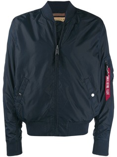 Alpha Industries куртка-бомбер с логотипом
