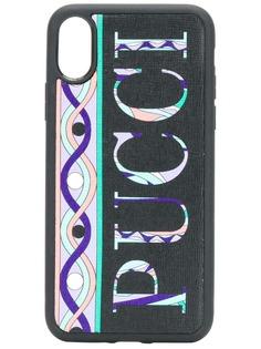 Emilio Pucci чехол для iPhone X/XS с принтом