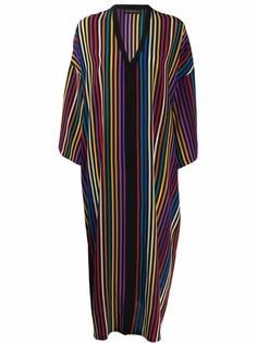 Etro платье в вертикальную полоску