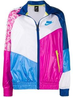 Nike куртка-бомбер в стиле колор-блок