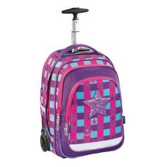 Рюкзак Step By Step BaggyMax Trolley розовый/фиолетовый Pink Star