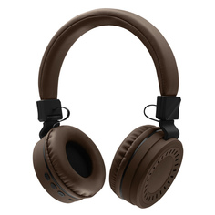 Наушники Bluetooth Rombica MySound BH-11 Brown (BT-H018)