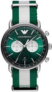 Мужские часы в коллекции Aviator Мужские часы Emporio Armani AR11221