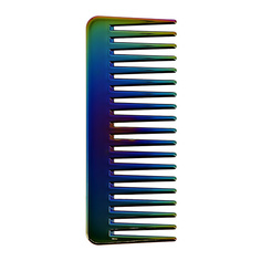Гребень для волос LADY PINK перламутровый разноцветный