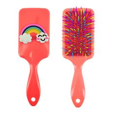 Расческа для волос LADY PINK RAINBOW массажная с принтом