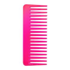 Гребень для волос LADY PINK перламутровый малиновый