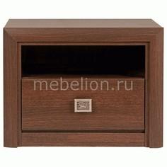 Тумбочка Коен КОМ 1S/58 Black Red White