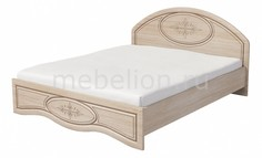 Кровать двуспальная Василиса К1-160П Мебель Неман