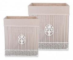 Набор корзин Набор из 2 корзин (42x31x49 см) 190-212