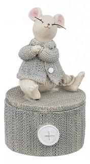 Шкатулка декоративная Мышка 162-574