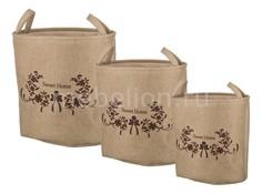 Набор корзин Набор из 3 корзин (45x33x42 см) 190-174