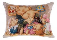 Подушка декоративная (65x45 см) Счастье в дом 850-902-35