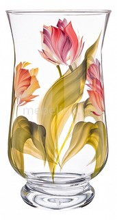 Ваза настольная (30 см) Тюльпаны 354-1613