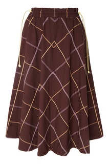 Расклешенная юбка-миди Alysi