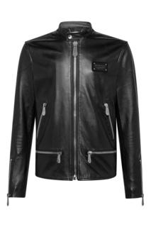 Куртка в байкерском стиле Philipp Plein