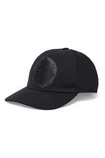 Черная бейсболка с эмблемой Billionaire