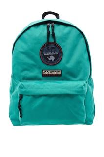 Бирюзовый тканевый рюкзак Napapijri