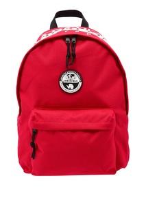 Красный рюкзак с эмблемой Napapijri