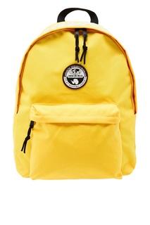 Желтый тканевый рюкзак Napapijri