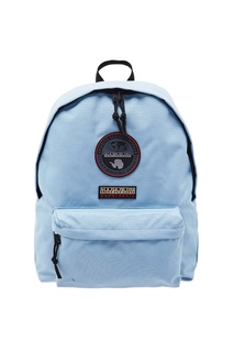 Голубой рюкзак с нашивкой-эмблемой Napapijri